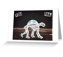 Yoginatomy Decoded Greeting Card