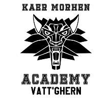 Kaer Morhen Academy Photographic Print