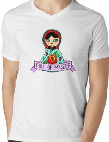Full Of Myself Mens V-Neck T-Shirt