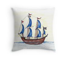 Go Find Ye Treasure  Throw Pillow