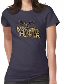 Monster Hunter Title Womens Fitted T-Shirt