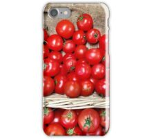 Red Tomatoes iPhone Case/Skin