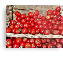 Red Tomatoes Metal Print