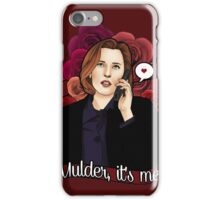 XF Dana Scully  iPhone Case/Skin