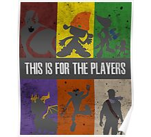 This is for the players Poster