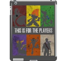 This is for the players iPad Case/Skin