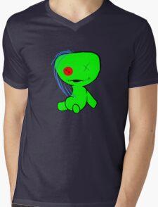 Lil Glitch Mens V-Neck T-Shirt