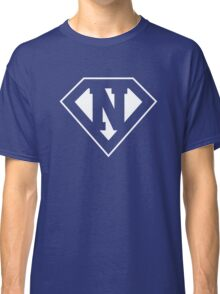 N letter in Superman style Classic T-Shirt