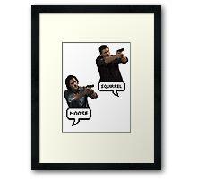Supernatural Sam & Dean  Framed Print