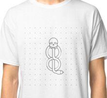 Minimalist Dark Marks HP Classic T-Shirt