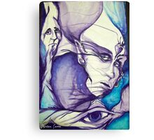 The Visceral Queen of Organica Canvas Print