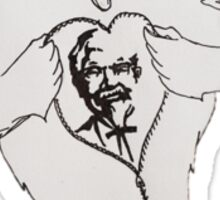 Kentucky Fried Super Chicken Sticker