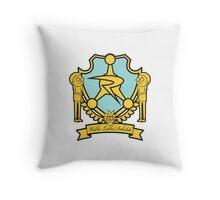 Council of Ricks Crest Throw Pillow