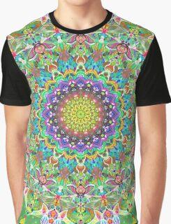 RAINBOW CHAMELEON MANDALA Graphic T-Shirt