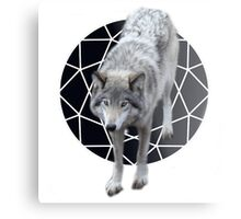 The call of the wolf  Metal Print