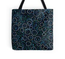 Blue abstract decor  Tote Bag