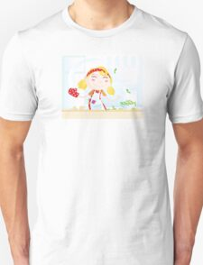Funny kitchen girl. Cooking girl have fun in the kitchen Unisex T-Shirt