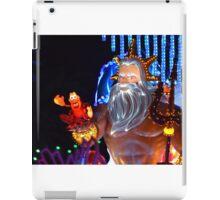 King Triton Paint the Night iPad Case/Skin
