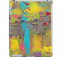 sidewalk graffiti  iPad Case/Skin