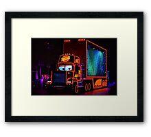 Mack Paint the Night Framed Print
