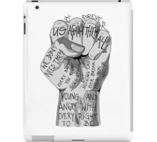 Against them all - Stick to your guns iPad Case/Skin
