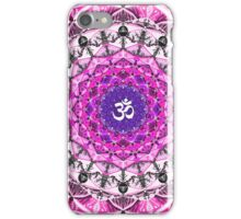 PINK OM MANDALA iPhone Case/Skin