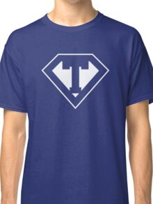 T letter in Superman style Classic T-Shirt