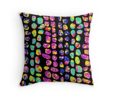 Marching Stones Throw Pillow