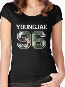 GOT7 - Youngjae 96 Women's Fitted Scoop T-Shirt