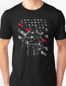 Firefighter Thin Red Line Firefighter Shirts Unisex T-Shirt