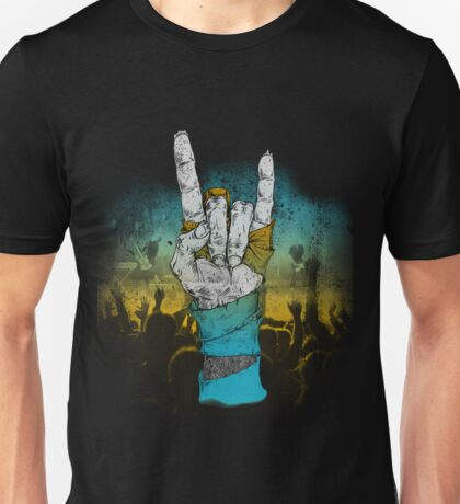 Zombie Heavy Metal. Unisex T-Shirt