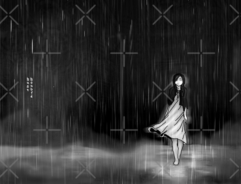 ... as the rain fell on me by ROUBLE RUST