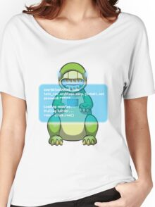 user@dinoSMASH$ Women's Relaxed Fit T-Shirt