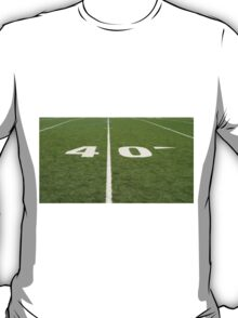 Football Field Forty T-Shirt
