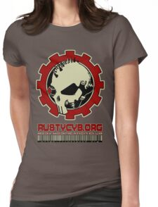 Rusty Cyborg Womens Fitted T-Shirt