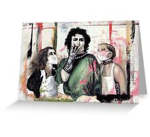 The Rocky Horror Picture Show Greeting Card