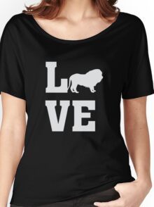 I Love Lions - Animal Lion Lover T Shirt Women's Relaxed Fit T-Shirt