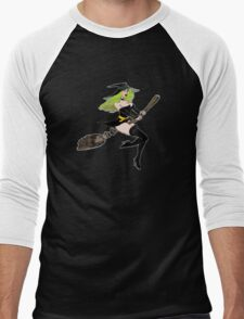 Green Witch Men's Baseball ¾ T-Shirt
