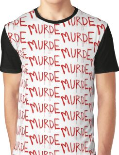 American Horror Story Season 6 My Roanoke Nightmare Murde Graffiti Graphic T-Shirt