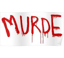American Horror Story Season 6 My Roanoke Nightmare Murde Graffiti Poster
