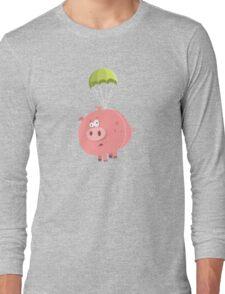 Flying Pig Long Sleeve T-Shirt