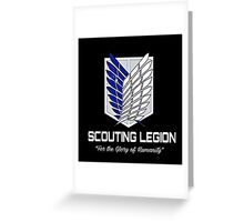 Scouting Legion Greeting Card