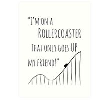 The Fault in Our Stars Rollercoaster Art Print