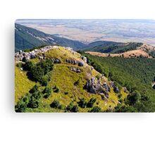 Bulgarian Mountains at Shipka Pass Canvas Print