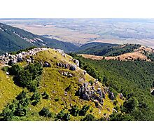 Bulgarian Mountains at Shipka Pass Photographic Print