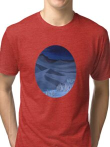 Late night on the mountain Tri-blend T-Shirt