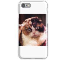 Tattoo-Foldi-Cat iPhone Case/Skin