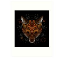 Fox Face Art Print
