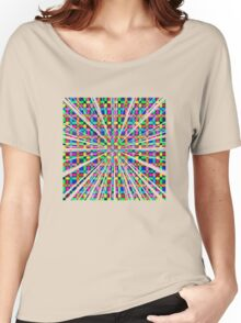 Labyrinth Pattern Women's Relaxed Fit T-Shirt