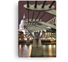 Inspiring Bridge Canvas Print